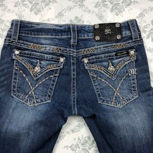 Miss me jeans sz 28 x33.5 boot